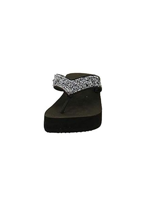 47ca1b5ed4fd ... Lyst Esprit - Black  s Dolly Thong Mules ...