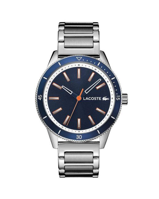 Lacoste Green S Analogue Classic Quartz Watch With Stainless Steel Strap 2011014 for men