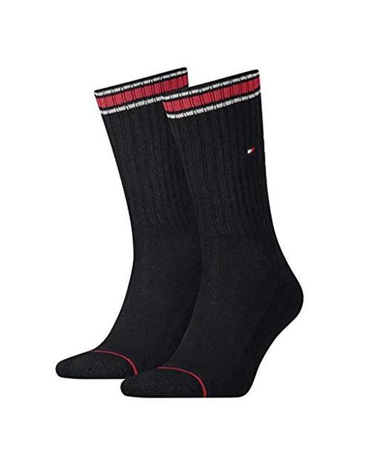Tommy Hilfiger Black Socks (pack Of 2) for men