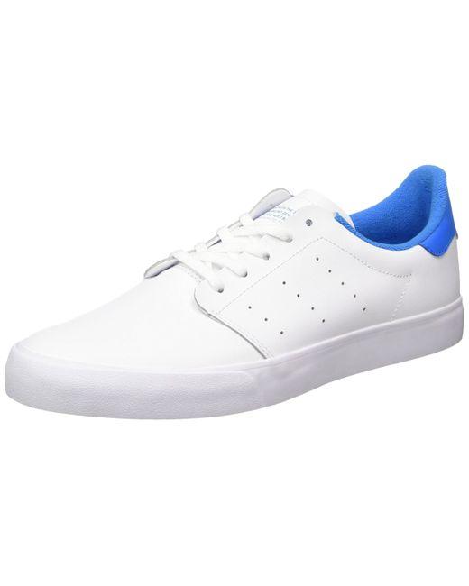 Seeley Court BB8587 hommes Chaussures en bleu Cuir adidas pour ...