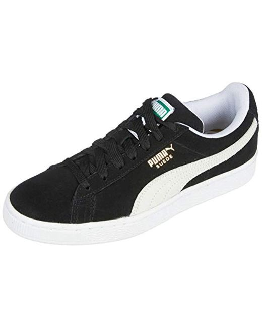 low priced 7907b 29052 Black Suede Classic, Unisex Adults' Low-top Trainers