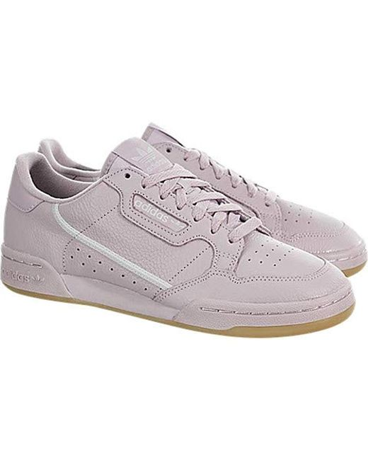 d30a2a5cf9bd9 adidas Leather Continental 80 in Pink - Lyst