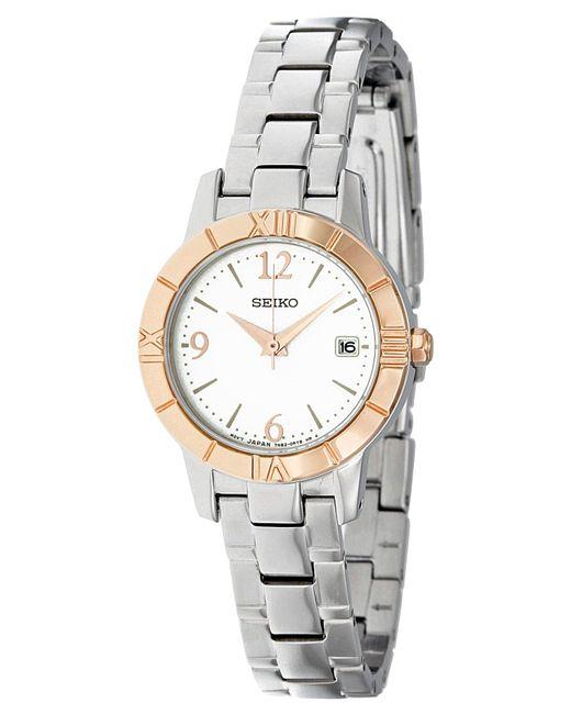 Orologio - - Watches - SUJF48* di Seiko in Metallic