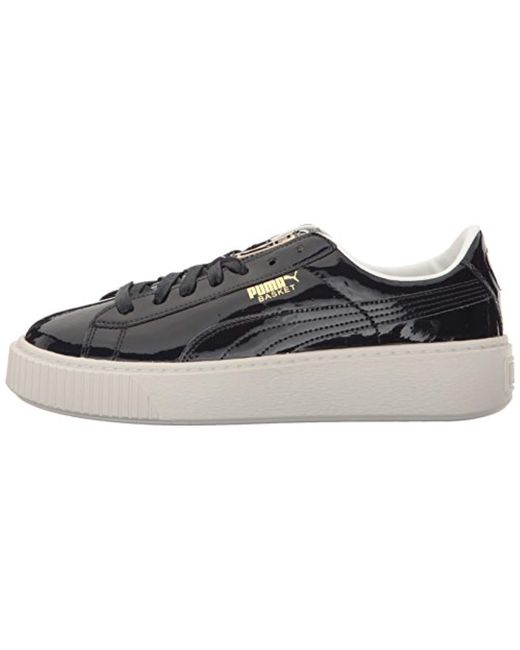 Lyst PUMA Basket Platform Patent Wn's Field Hockey Shoe