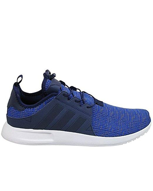 new style c96f9 0f110 Adidas Originals - Blue Xplr Fashion Sneakers for Men - Lyst ...