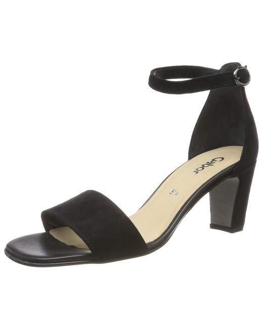 Gabor Black Fashion 21.860. Riemchensandalen