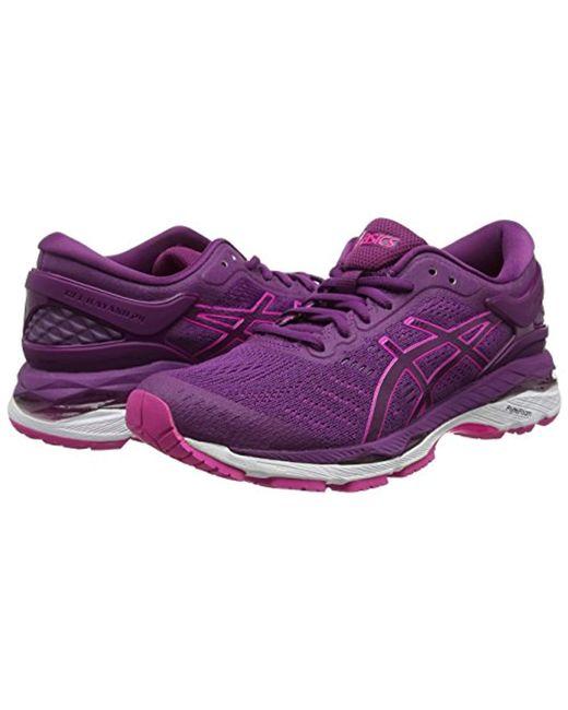 cfae82414029d Asics Gel-kayano 24 Running Shoes in Purple - Save 19% - Lyst