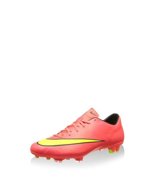 Nike Mercurial Victory V Fg 651632 Herren Fußballschuhe Training in Pink für Herren