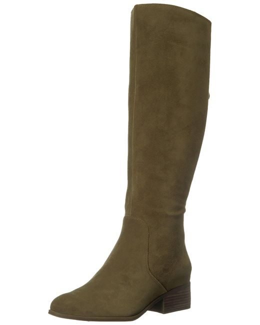 Lucky Brand Green Lanesha Equestrian Boot
