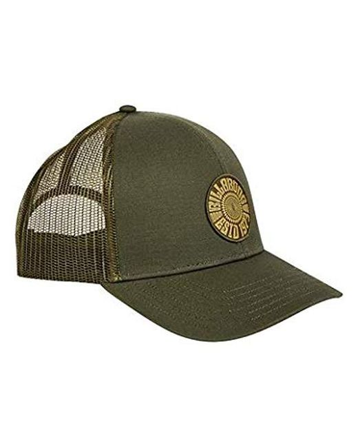 6cdb4bb6bd03c ... Billabong - Green Classic Trucker Hat for Men - Lyst ...