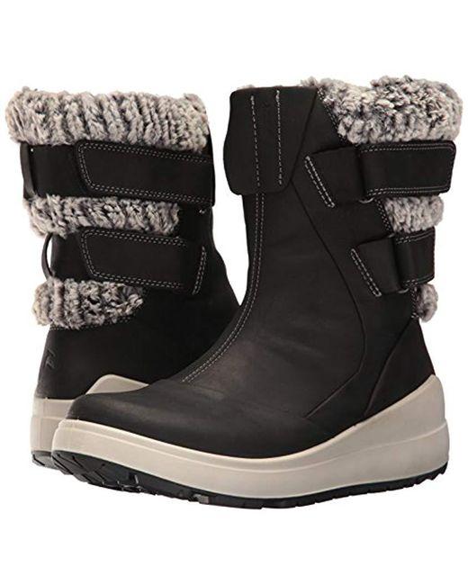 633763a732 Ecco Noyce Black 834613 02001 Women's Snow Boots In Black - Save 47 ...