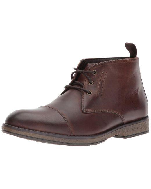 Clarks Hombres Hinman Geschlossener Zeh Leder Fashion Stiefel Braun Groesse 12 US /46 EU in Brown für Herren
