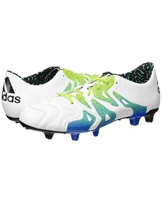 adidas adidas X 15.1 Leather FG Mens Football Boots Mens