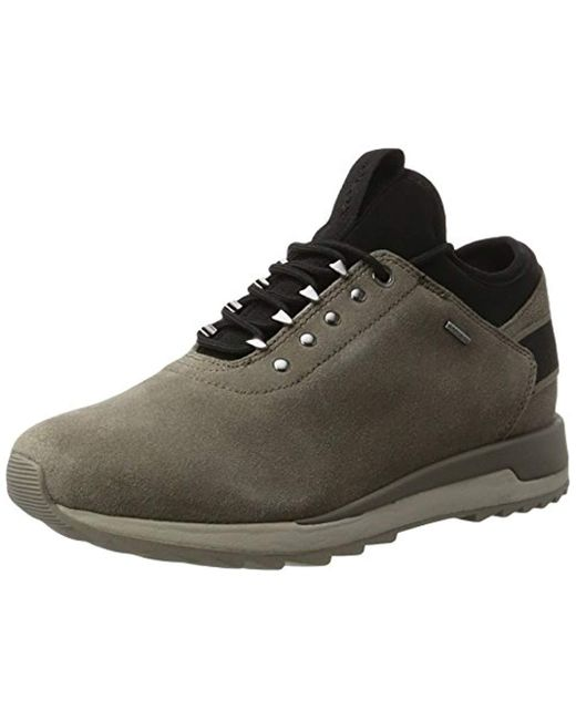 Cocinando organizar montar  Geox Leather D Aneko B Abx A Low-top Sneakers - Save 42% - Lyst