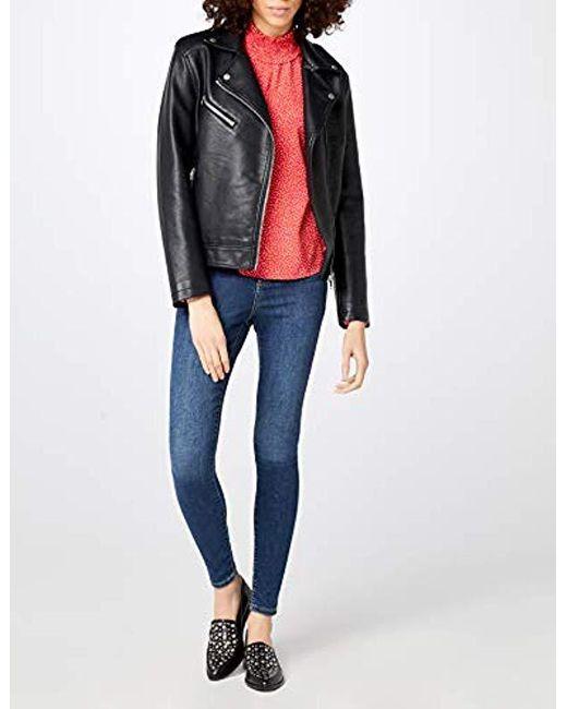 9ed5d7beea7b7e ... Vero Moda - Blue Vmsophia Hw Skinny Jeans Md Bl Noos - Lyst ...