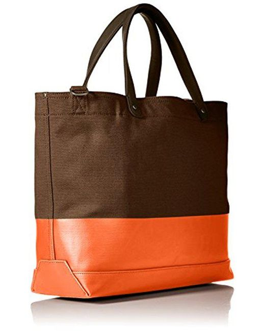 aa4fa688bf ... Jack Spade - Multicolor Dipped Coal Tote for Men - Lyst ...