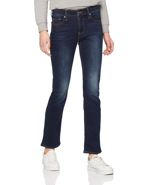 314 Shaping Straight Jean Droit Levi's en coloris Blue