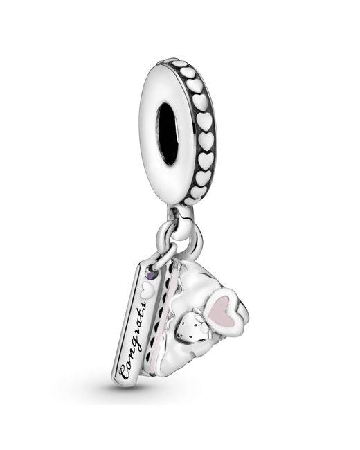 Argent Charms et perles - 797258ENMX Pandora en coloris Metallic