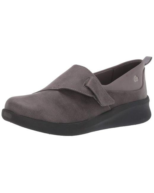 Clarks Gray Sillian 2.0 Ease Loafer