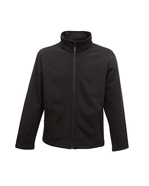 Regatta Black Ladies Print Perfect Softshell Long Sleeve Jacket