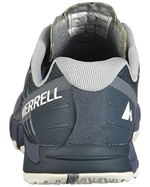 Merrell Bare Access Flex Fitness Shoes in Gray Lyst