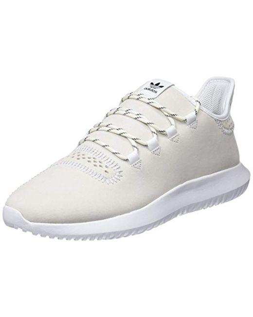 best service f7110 8134b Men's White 's Tubular Shadow Gymnastics Shoes
