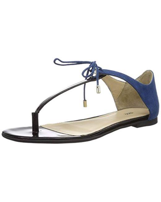 6d53203c49c07 HUGO - Blue  s Felicity 10195652 01 Wedge Heels Sandals - Lyst ...