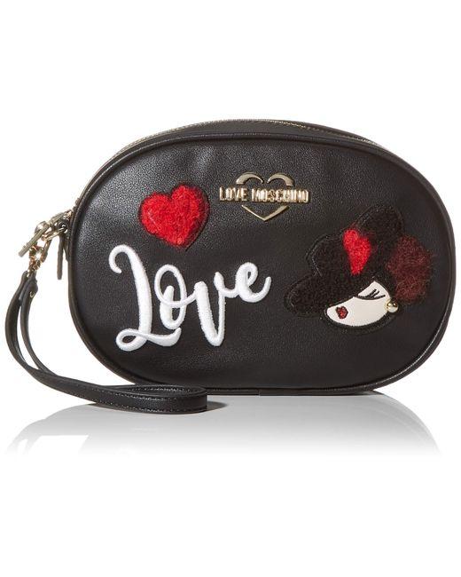 Borsa Pu di Love Moschino in Black