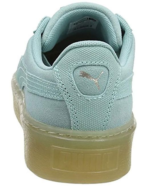 best sneakers 3e328 e9271 PUMA Suede Platform Pebble Low-top Sneakers - Save 72% - Lyst