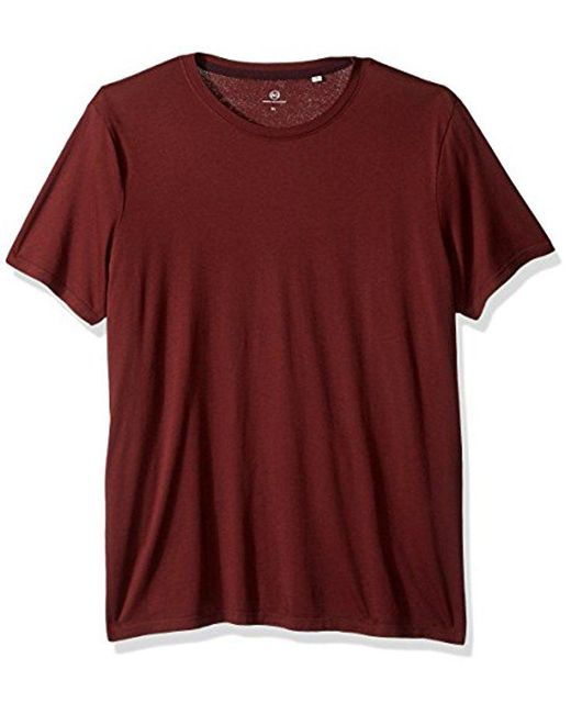 AG Jeans - Red Bryce Short Sleeve Crew Neck Tee for Men - Lyst