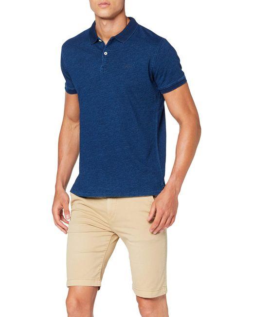 Pepe Jeans Preston Poloshirt, in Blue für Herren