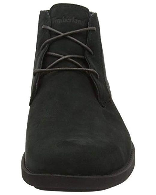 b9b2520d43197 Men's Black Fitchburg Waterproof Chukka