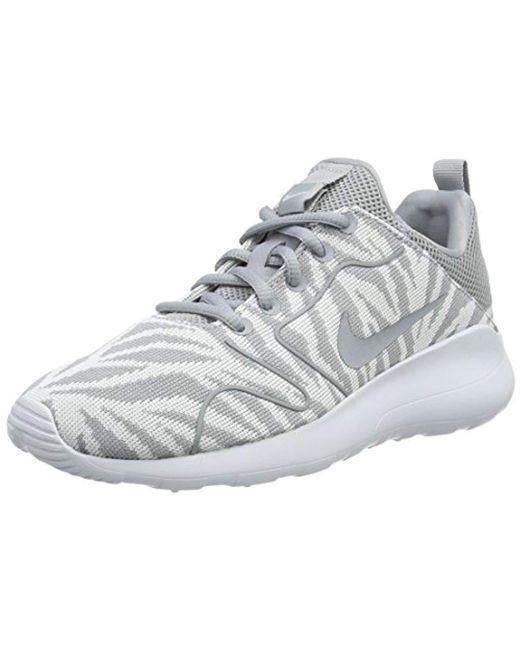 Save 5 Running Nike 2 Kjcrd Lyst Print Gray Shoes Kaishi 0 In 2 XzqOBP