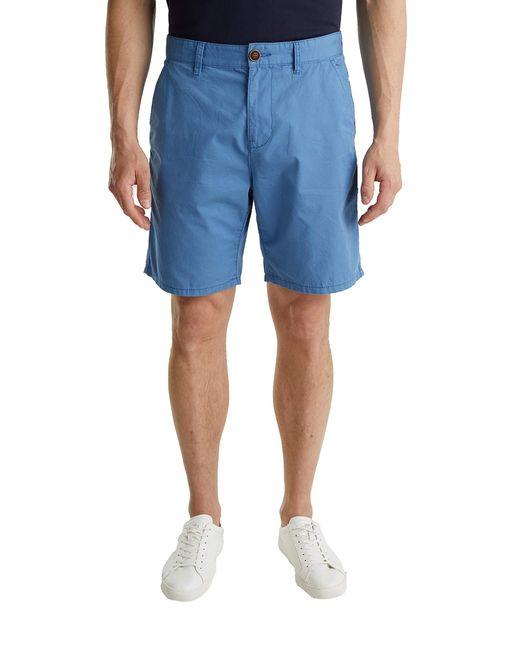 Edc By Esprit 030CC2C303 Shorts in Blue für Herren