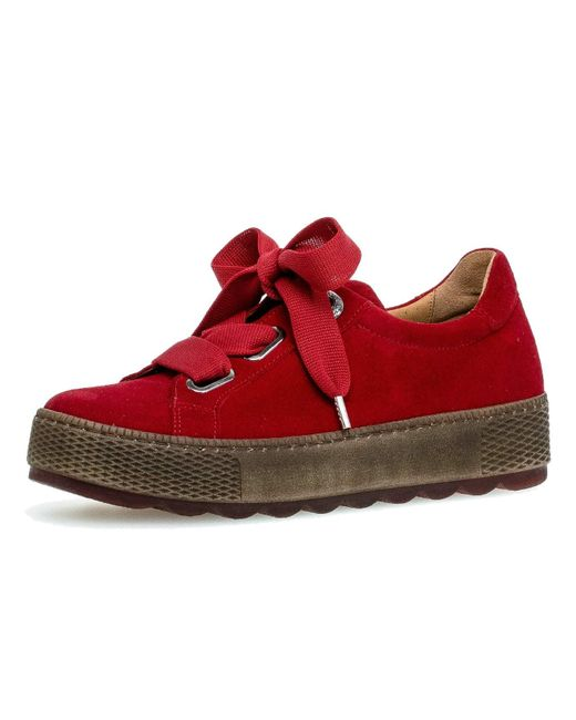 Gabor Red Sneaker 36.535