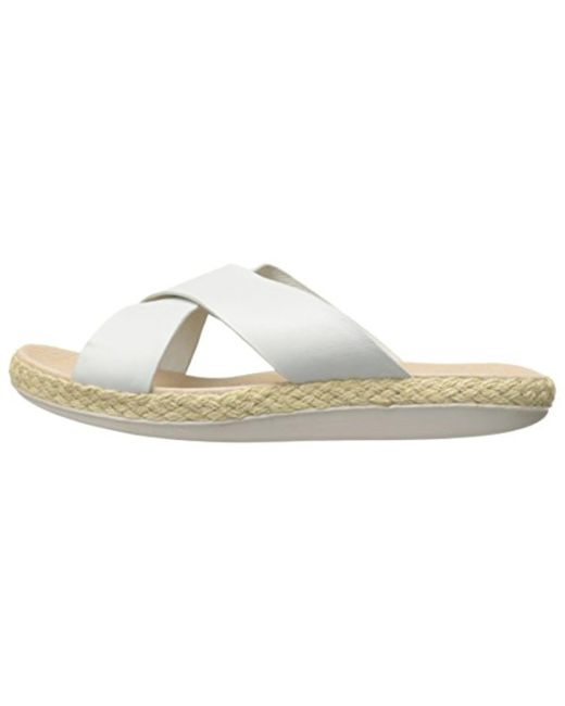 04c8c911b150 Lyst - Tommy Bahama Relaxology Ilidah Slide Sandal in White - Save 53%