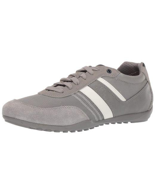 Geox Garlan 1 Lace Up Sneaker Turnschuh in Gray für Herren