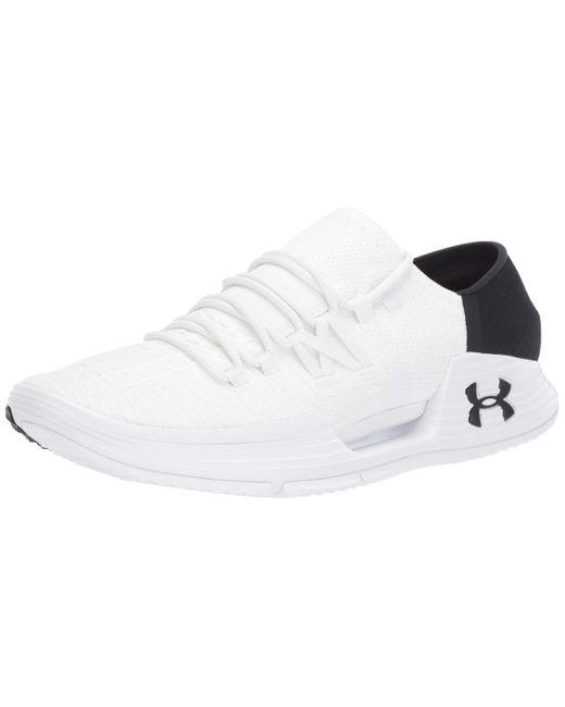 Under Armour White Speedform Amp 3 Sneaker for men
