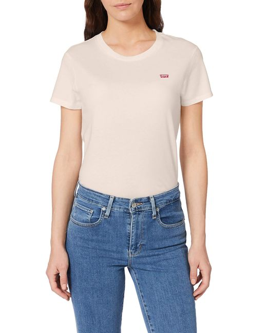 Perfect Tee T-Shirt di Levi's in Pink