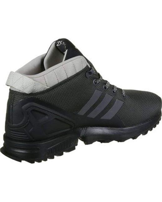 innovative design 4c713 4cd4c ... Adidas - Black Zx Flux 5 8 Tr Hi-top Sneakers for Men ...
