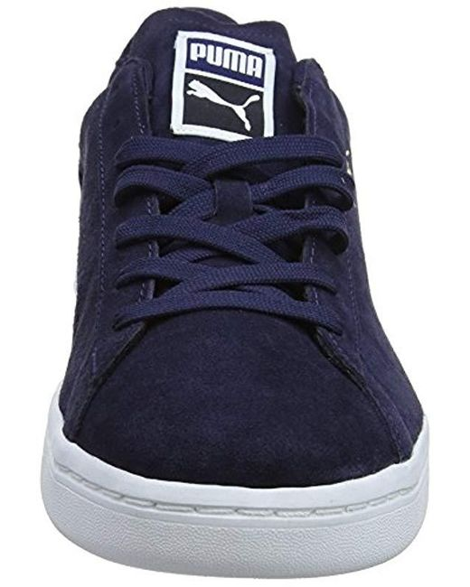 premium selection 8073a c834d Blue Unisex Adults' Court Star Suede Low-top Trainers