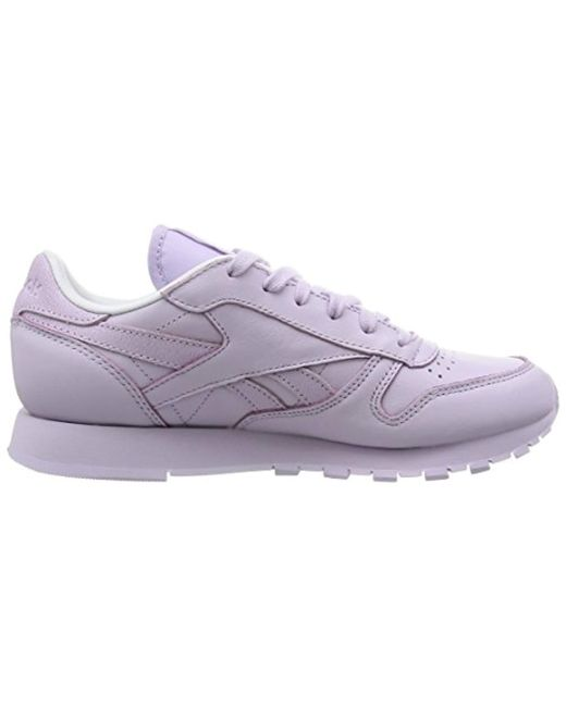 new arrival f75ae ae0ba Women's Purple Classic Leather Spirit, Low-top Trainers