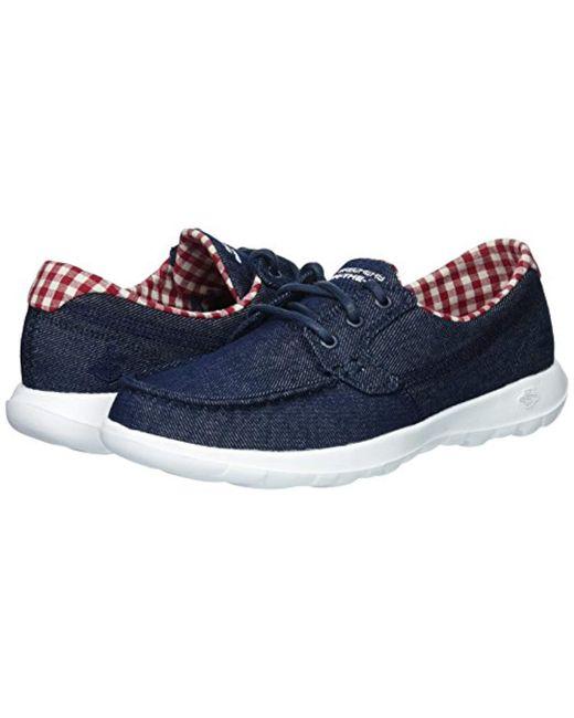 3cb327b050013 Skechers 15436 Boat Shoes in Blue - Lyst