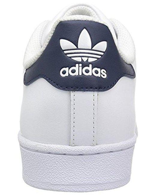 lyst adidas originals superstar stiftung fashion sneakers in