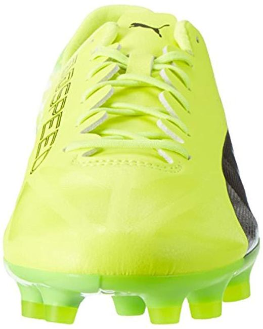 premium selection 509f4 daa3a ... PUMA - Yellow Evospeed 17 SL AG, Botas de fútbol para Hombre for Men ...