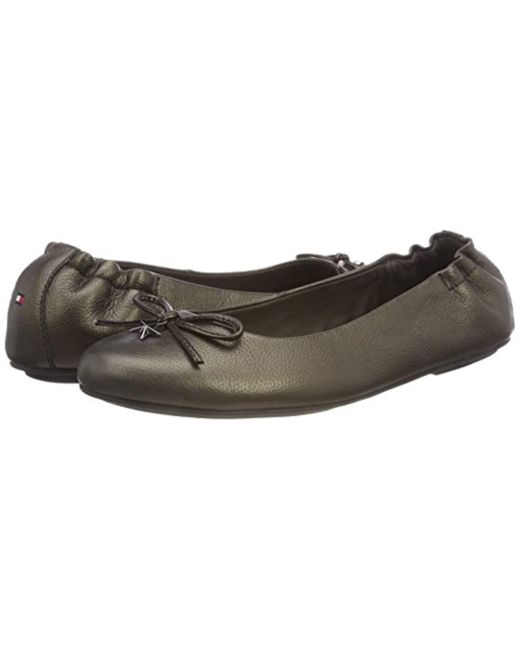 82121717a505c Tommy Hilfiger Star Charm Flexible Ballerina Ballet Flats - Lyst