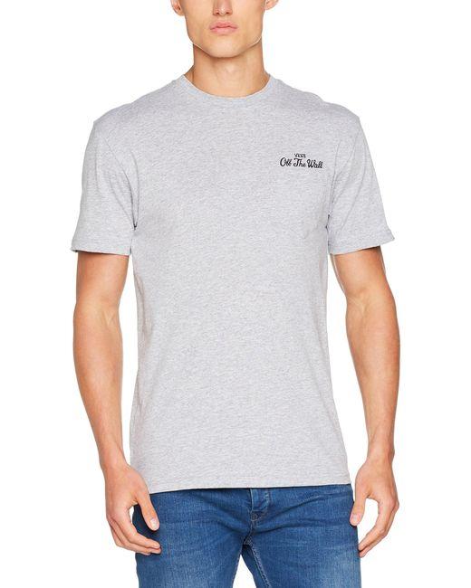 Vans Gray T-shirt for men