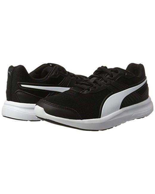 2ceb1db4957937 ... PUMA - Black Unisex Adults  Escaper Mesh Low-top Sneakers for Men ...