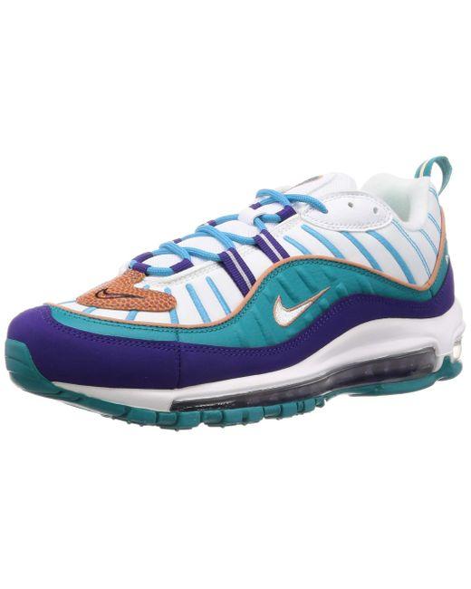 Nike Air Max 98 Leichtathletikschuhe in Blue für Herren