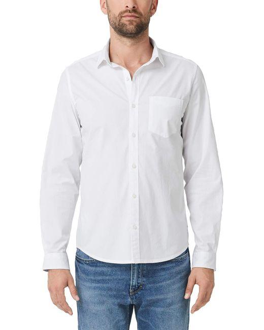 S.oliver Hemd aus elastischer Qualität White XL für Herren